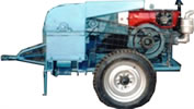 Mobile maize sheller